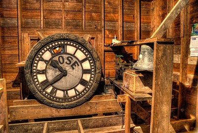 "Clock Tower - Cowichan Station, Cowichan Valley, Vancouver Island, BC, Canada Visit our blog ""The Chapel Built for Children"" for the story behind the photo."
