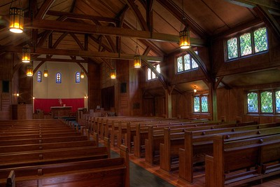 "Fairbridge Chapel - Cowichan Station, Cowichan Valley, Vancouver Island, BC, Canada Visit our blog ""Beams and Pews"" for the story behind the photo."