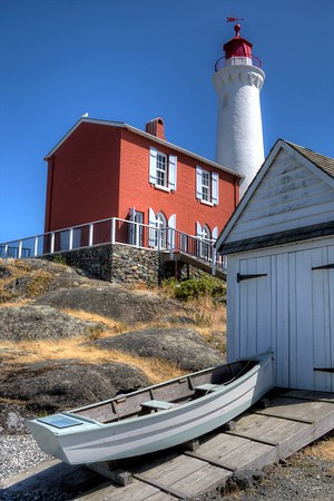 Fisgard Lighthouse - Colwood, BC, Canada