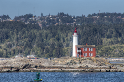 Fisgard Lighthouse - Colwood, Vancouver Island, British Columbia, Canada