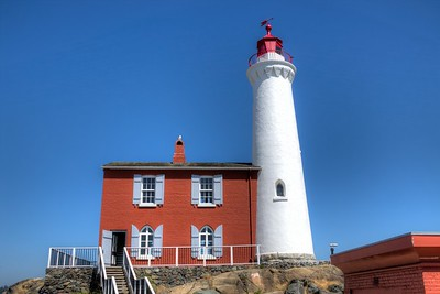 """Fisgard Lighthouse - Colwood, BC, Canada Visit our blog """"A Beacon Through The Fog"""" for the story behind the photo."""