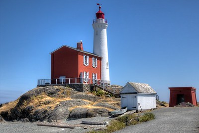 "Fisgard Lighthouse - Colwood, BC, Canada Visit our blog ""A Beacon Through The Fog"" for the story behind the photo."