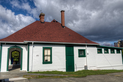 Former Work Point Barracks Guardhouse, Building 1001 - Victoria, Vancouver Island, BC, Canada
