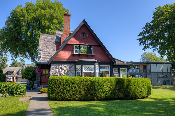 Francis Rattenbury's House - Heritage Site, Victoria, Vancouver Island, British Columbia, Canada