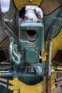 German 77mm Feldkanone 96 neuer Art Field Gun, Reg. #595 - Esquimalt, Victoria, BC, Canada
