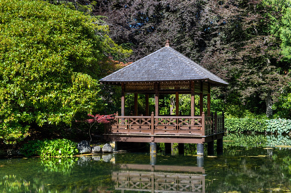 Hatley Park Castle Gardens - Victoria BC Canada