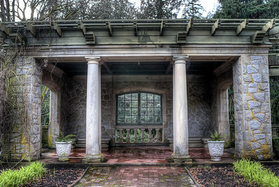 """Hatley Park Castle - Victoria BC Canada Visit our blog """"The Dark Garden"""" for the story behind the photo."""