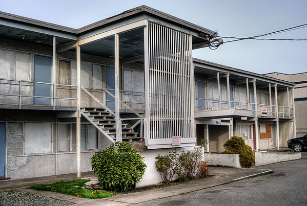 Holiday Court Motel - Victoria, BC, Canada