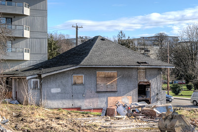 """House Demolition - Victoria BC Canada Visit our blog """"Because I'm Worthless"""" for the story behind the photos."""