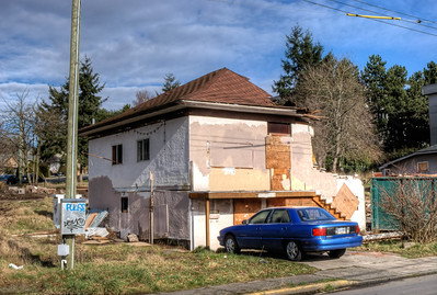 """House Demolition - Victoria BC Canada Please visit our blog """"The Toad And The Wrecking Ball"""" for the story behind the photos."""