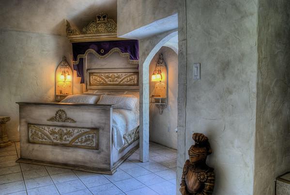 Master Bedroom - Castle B&B - Chemainus BC Canada