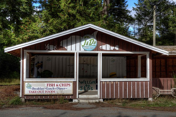 J&D's Take Out - Sooke, Vancouver Island, BC, Canada