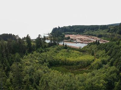 Jordan River Power Station - Jordan River, Vancouver Island, British Columbia, Canada