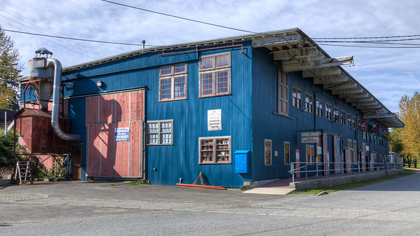 """Ladysmith Railway Museum - Ladysmith, Vancouver Island, BC, Canada Visit our blog """"The Ghostly Echo Of A Train Whistle"""" for the story behind the photo."""