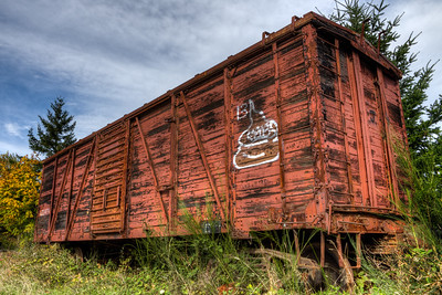 """Ladysmith Railway Museum - Ladysmith, Vancouver Island, BC, Canada Please visit our blog """"Textures Of Old Trains"""" for the story behind the photo."""