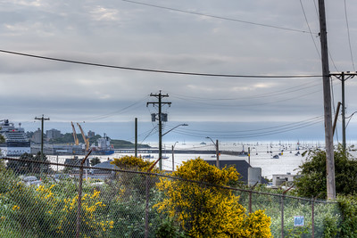 Swiftsure Boat Race - Shot from Fort Macaulay - Victoria, BC, Canada