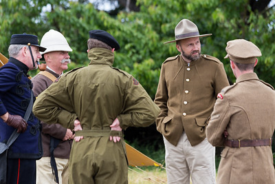 Shot at the 2016 Fort Macaulay Historic Interpretation Tour - Victoria, BC, Canada