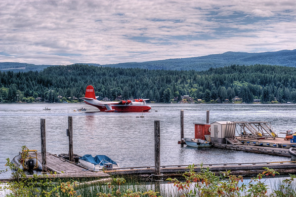 Mars Water Bomber - Sproat Lake, BC, Canada