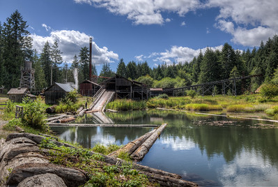 McLean Mill National Historic Site - Port Alberni, Vancouver Island, British Columbia, Canada