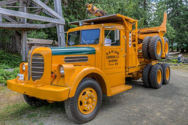 McLean Mill National Historic Site - Port Alberni, Vancouver Island, British Columbia, Canada