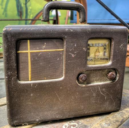 Classic Radio - Metchosin Pioneer Museum, Vancouver Island, BC, Canada