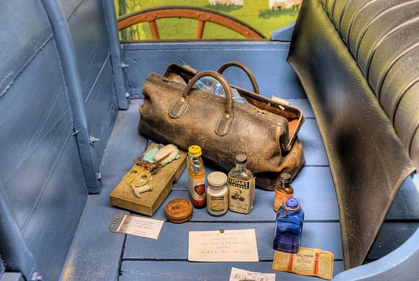 Horse Drawn Carriage - Metchosin Pioneer Museum, Vancouver Island, BC, Canada