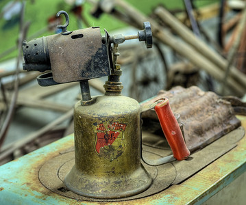 """Antique Torch - Metchosin Pioneer Museum, Vancouver Island, BC, Canada Visit our blog """"Light My Fire"""" for the story behind the photos."""