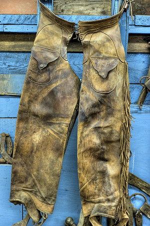 William Lewis Fernie's Chaps - Metchosin Pioneer Museum, Vancouver Island, BC, Canada