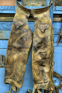 """William Lewis Fernie's Chaps - Metchosin Pioneer Museum, Vancouver Island, BC, Canada Visit our blog """"No Time Like The Present, Old Chaps!"""" for the story behind the photos."""