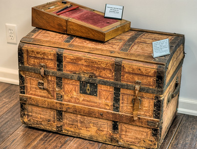 "Antique Chest - Metchosin Pioneer Museum, Vancouver Island, BC, Canada Visit our blog ""Remnants of Yesterday"" for the story behind the photo."