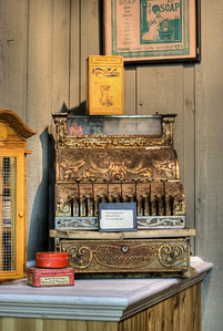 """Antique Cash Register - Metchosin Pioneer Museum, Vancouver Island, BC, Canada Visit our blog """"No Sale At The Five And Dime"""" for the story behind the photos."""