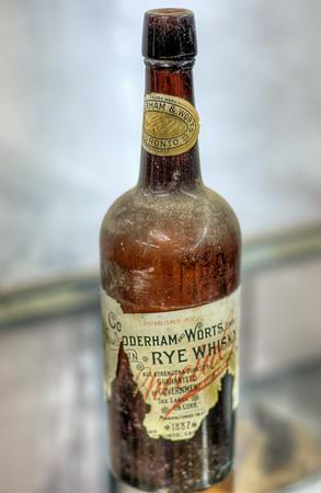 Antique Bottle - Metchosin Pioneer Museum, Vancouver Island, BC, Canada