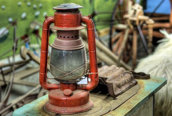 Lantern - Metchosin Pioneer Museum, Vancouver Island, BC, Canada