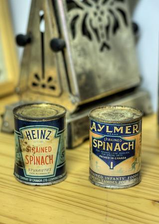 Kitchen Scene - Metchosin Pioneer Museum, Vancouver Island, BC, Canada