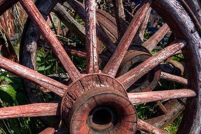 Artifacts - Metchosin Pioneer Museum, Vancouver Island, BC, Canada