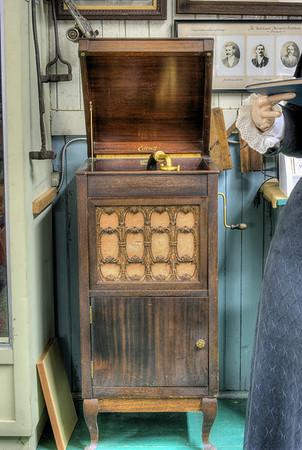 Edison Phonograph - Metchosin Schoolhouse - Metchosin, BC, Canada