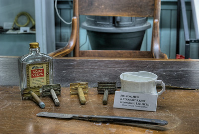 "Shaving Equipment - Metchosin Schoolhouse - Metchosin, BC, Canada Visit our blog ""A Pinch Of Tobacco"" for the story behind the photo."