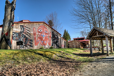 """Quw'utsun' Cultural & Conference Centre - Duncan BC Canada Visit our blog """"Hoppin' Around The Big Show"""" for the story behind the photo."""