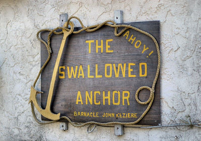 "The Swallowed Anchor - Victoria, BC, Canada Visit our blog ""Landlubbers And Scallywags Beware"" for the story behind the photos."