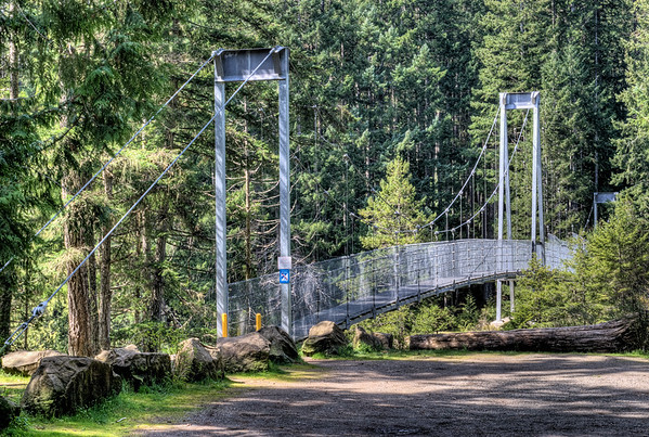Top Bridge Crossing - Parksville, BC, Canada