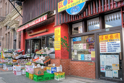Grocery Store - Chinatown, Victoria BC Canada
