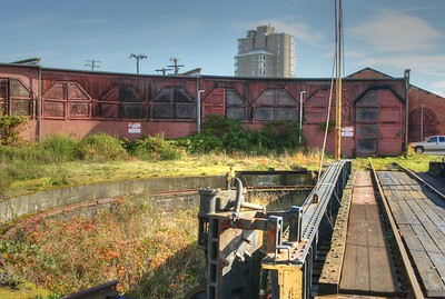 E&N Russell Roundhouse - Victoria, BC, Canada