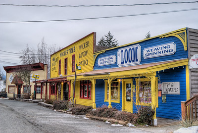 """Whippletree Junction - Duncan BC Canada Visit our blog """"No Change At The Bank"""" for the story behind the photo."""