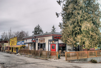 """Black Coffee - Whippletree Junction, Duncan BC Canada Visit our blog """"No Change At The Bank"""" for the story behind the photo."""