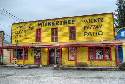 """Wickertree Home Decor Centre - Whippletree Junction, Duncan BC Canada Visit our blog """"No Change At The Bank"""" for the story behind the photo."""