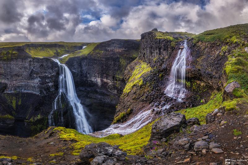 Two Waterfalls | Два водопада