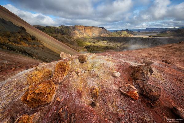 On the Volcano | На вулкане