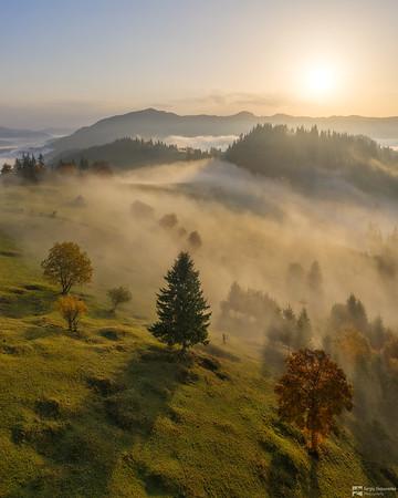Photographing the Fog | Фотографируя туман