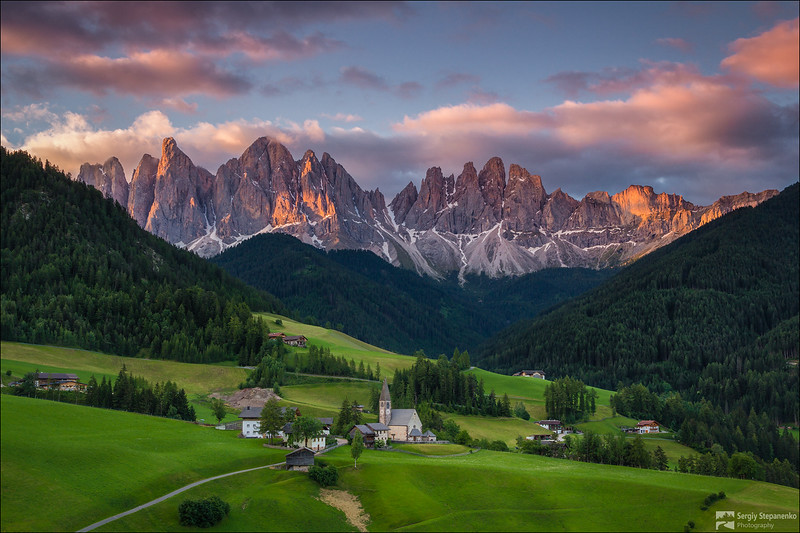 Generic Morning in Santa Maddalena | Обычное утро в Santa Maddalena