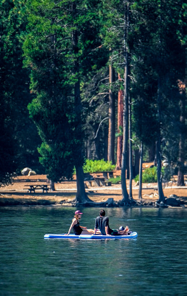 SUP Rest on Donner Lake